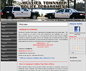 Mullica Township Police Dept New Jersey