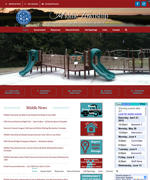 Joyce Media Web Design Middle Township
