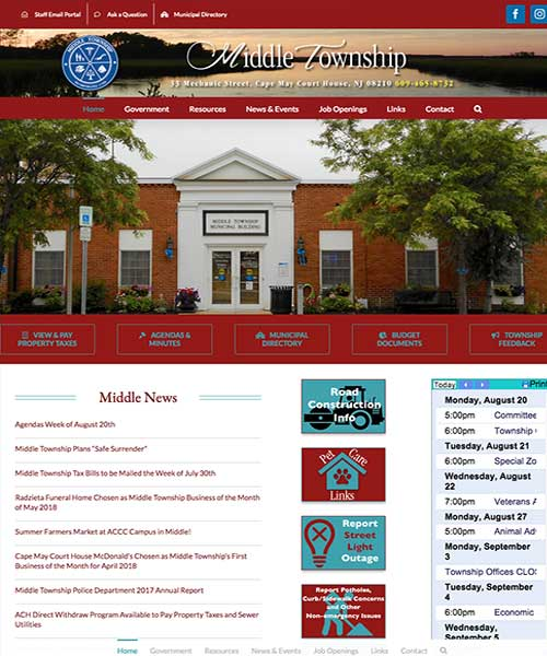 Joyce Media Web Design Middle Township
