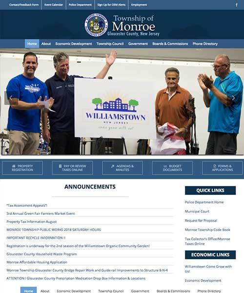 Joyce Media Web Design Monroe Township