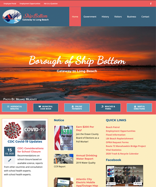 Borough of Ship Bottom web site